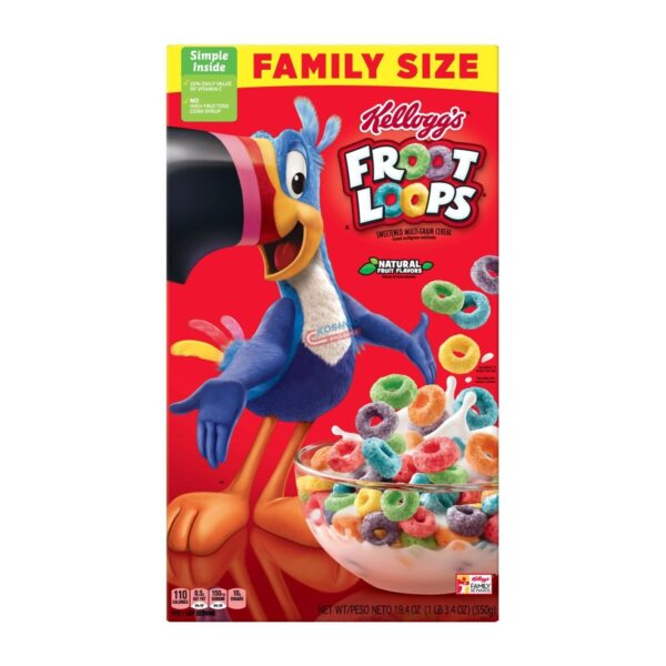 Fruit Loops Family Size