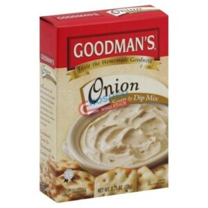 Goodmans onion soup and dip mix