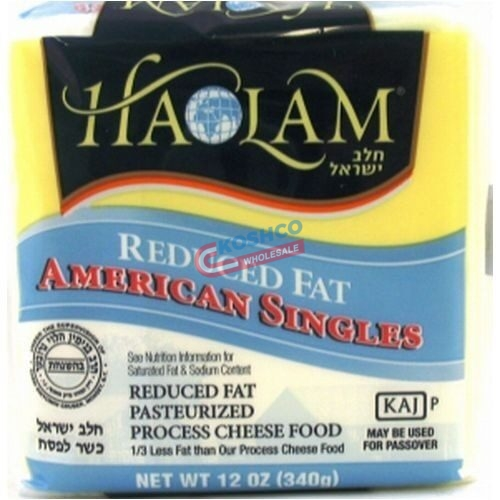 Haolam Reduced Fat American Cheese White