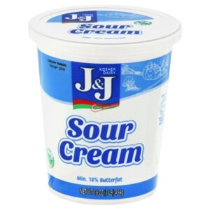 J and J Sour Cream 16 oz