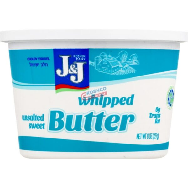 J and J Whipped Butter
