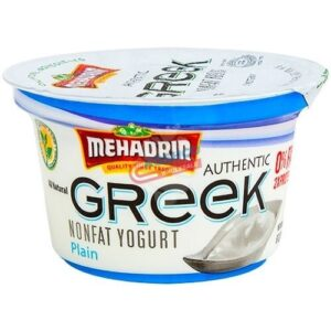 Mehadrin PLain Greek Yogurt 6 oz