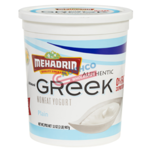 Mehadrin Plain Greek Yogurt 32 oz