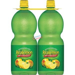 Real Lemon Juice twin pack