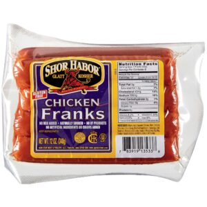 Shor Habor CHicken Franks 12 oz