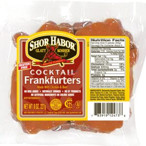 Shor Habor Cocktail Franks