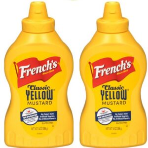 frenchs yellow mustard 14 oz-2pack