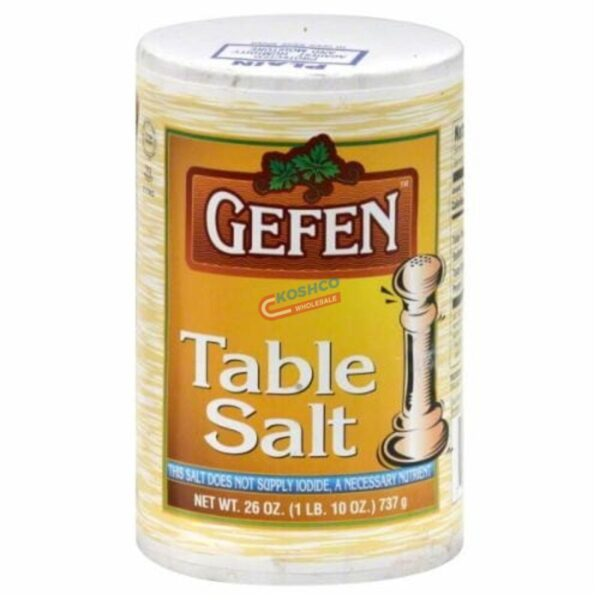 gefen table salt