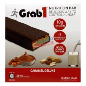 grab 1 caramel deluxe bar