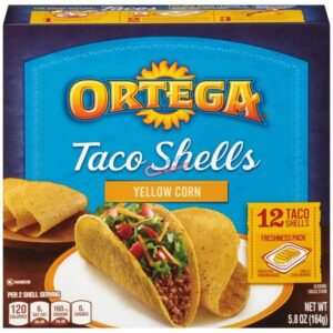 ortega taco shells 12 ct